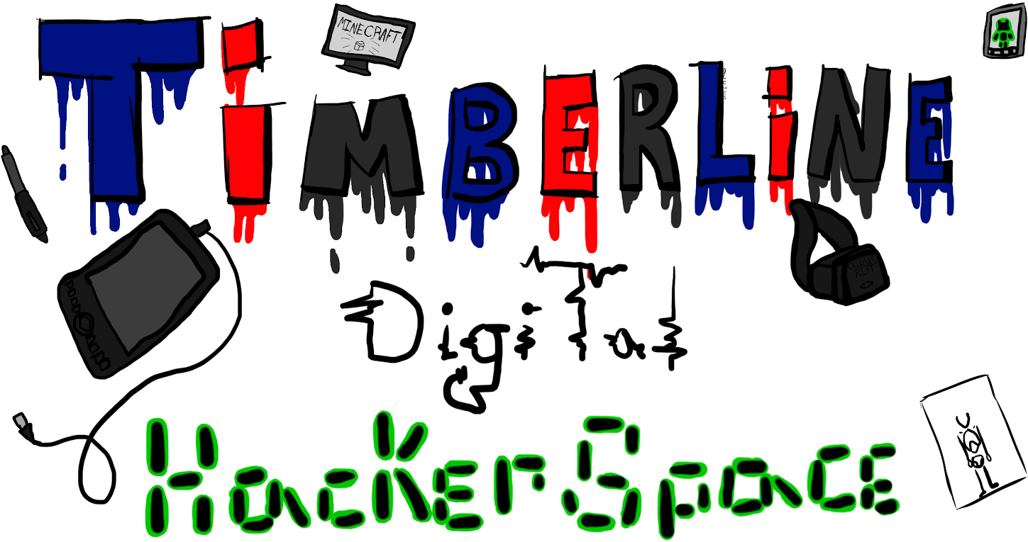 Timberline's Digital Hackerspace Banner